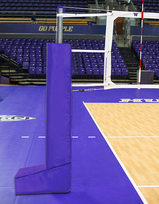 T-Base Dual Anchor Aluminum Volleyball System