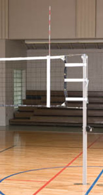 "International 3"" Aluminum Volleyball System - Shown without padding which can be ordered separately below."