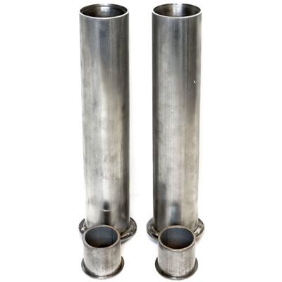 Recessed Cap Style 1 Foot Stainless Steel Pool Sleeve