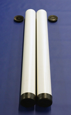 "POP E Series 3"" PVC Sleeve with Cap"