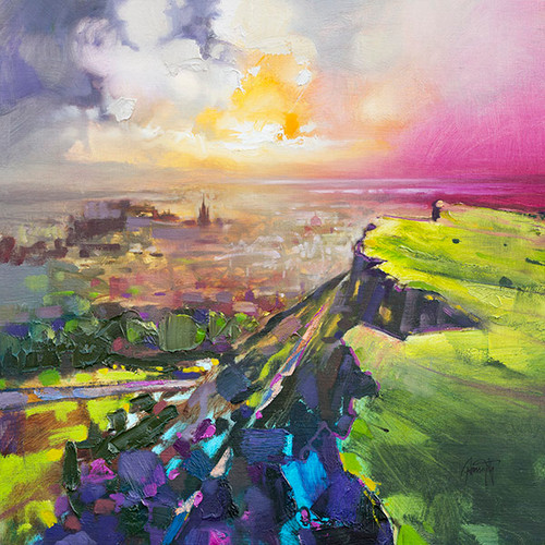 Salisbury Crags by Scott Naismith