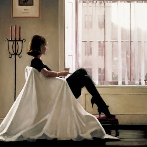 In Thoughts Of You by Jack Vettriano
