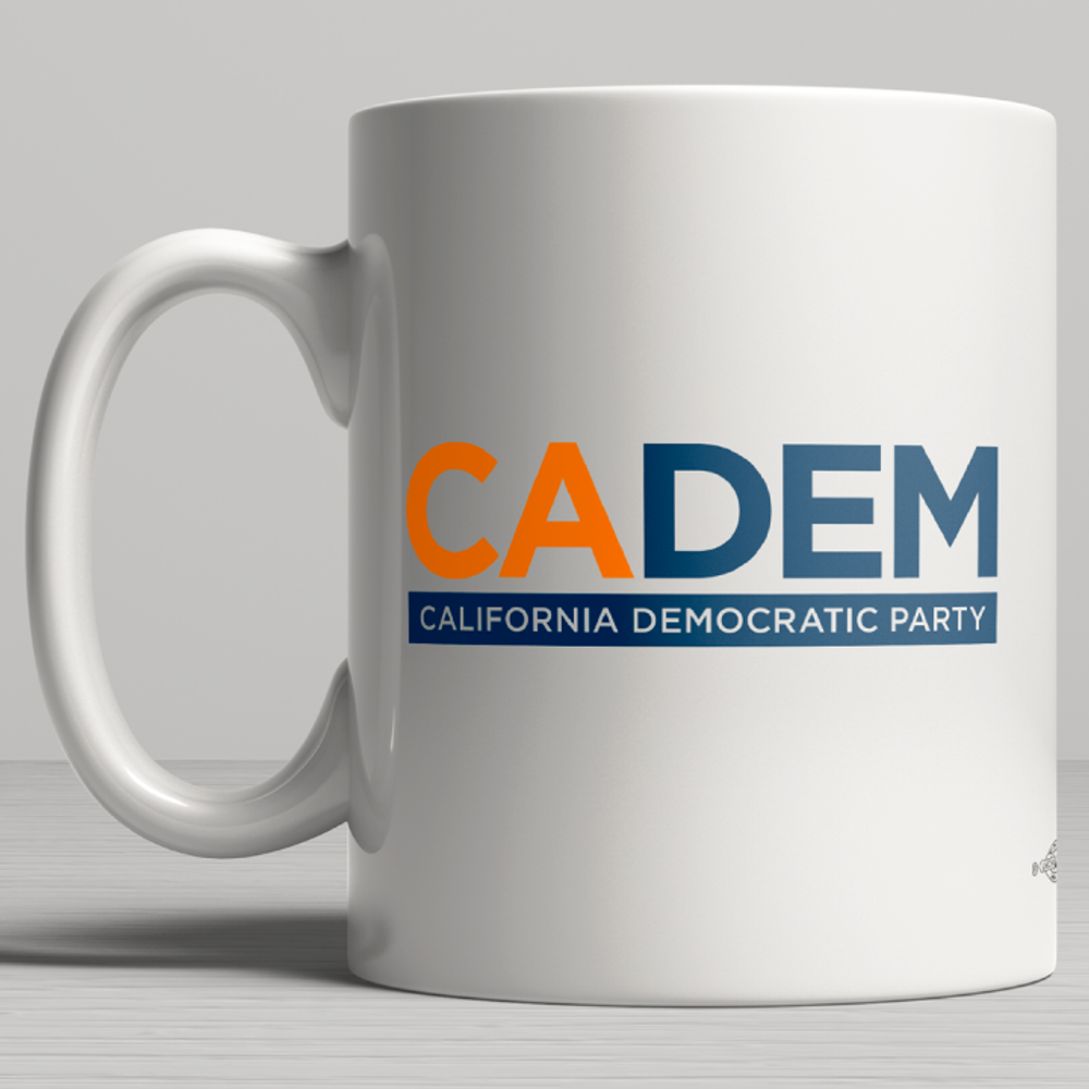 California Democratic Party Logo (11oz. Coffee Mug)