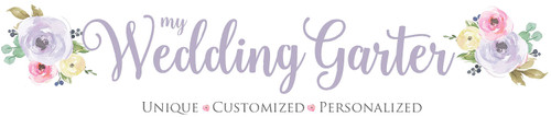 Make This Day Special - Personalized Wedding Garters