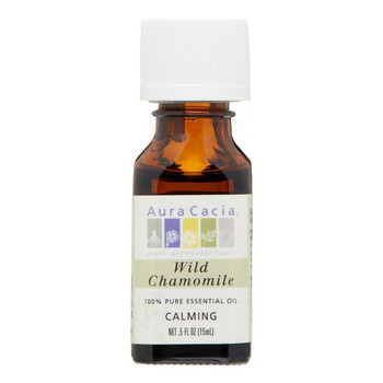 Aura Cacia Wild Chamomile Oil, 15 ml