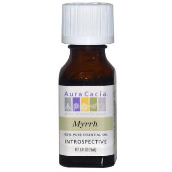 Aura Cacia Myrrh Oil, 15 ml