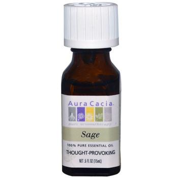 Aura Cacia Sage Oil, 15 ml