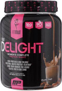 Fitmiss Delight Women's Complete Protein Shake, 550g