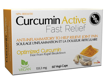Aor Curcumin Active Fast Relief, 1133.3 mg