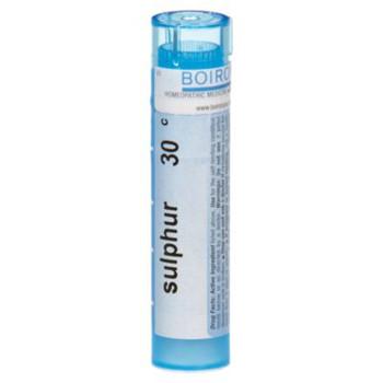 Homeopathic Boiron Sulfur, 30 pills
