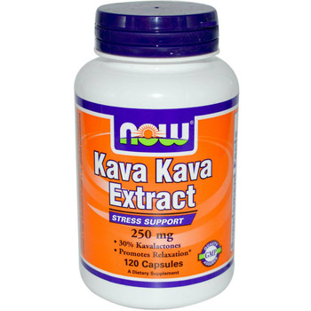 Now Kava Kava 250mg  60 Capsules