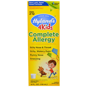 Hylands Complete Allergy For Kids, 118 ml