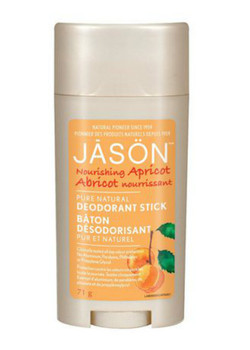 Jason Deodorant Nourishing Apricot, 71 g