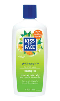 Kiss My Face, Whenever Shampoo, Green Tea & Lime, 11 fl oz (325 ml)