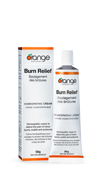 Burn Relief Homeopathic Cream 50g