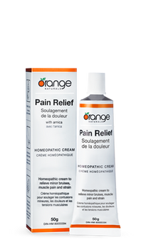 Pain Relief Homeopathic Cream 50g