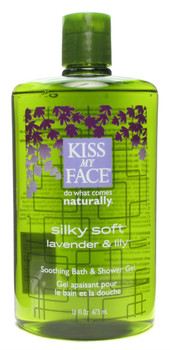 Kiss My Face, Silky Soft Shower & Bath Gel, 16 fl oz (473 ml)