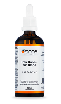 Homeopathic - Iron Builder for Blood 100ml (was Blood Builder)