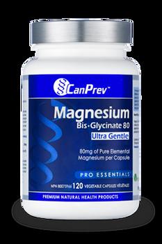 Magnesium Bis-Glycinate 80 Ultra Gentle 120 v-caps