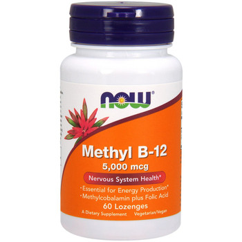 NOW Methyl B12, 5000mcg