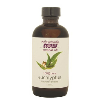 Now 100% Pure Essential Oil- Eucalyptus, 118ml