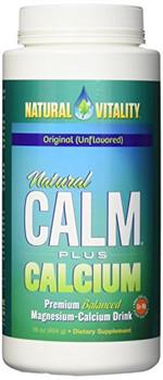 Natural Calm Plus Calcium, Original Unflavored, 452g