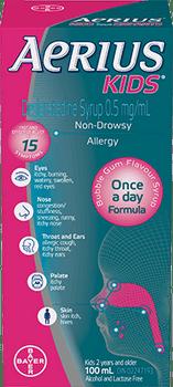Aerius Kids, Non-Drowsy, Allergies
