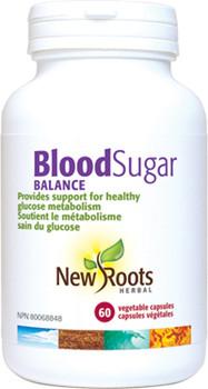 NewRoots BloodSugar Balance, 60 Caps
