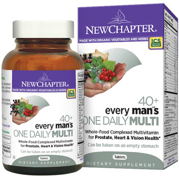 New Chapter Every Man`s Multivitamin 40+ , 48 Tablets