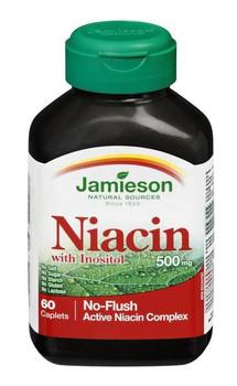 Jamieson, Niacine 500mg, 60 Caps