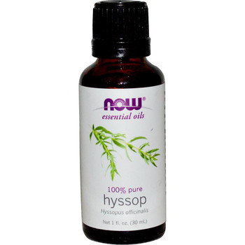 Now Hyssop Essential Oils, 1 fl. oz. 30 ml