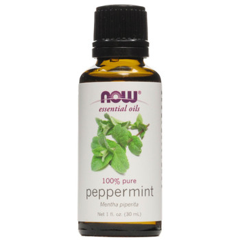 Now Pure Peppermint Essential Oils, 1 fl. oz. 30 ml