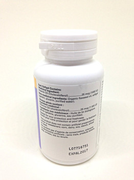 Vitamin D3, 90 Softgel