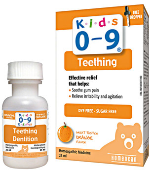 Kids 0-9 Teething, 25ml