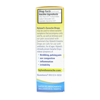 Hyland's Earache Drops, 10ml