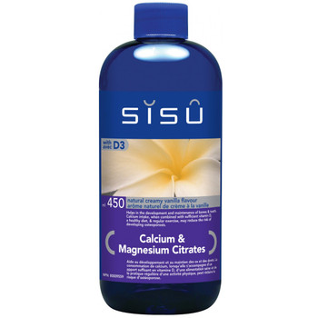 SISU Calcium & Magnesium Citrates with D3 Natural Creamy Vanilla, 450ml