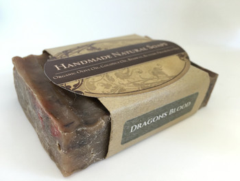 "Handmade Natural Soap "" Dragon Blood"", 132G"