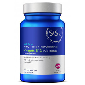 SISU Vitamin B12 Sublingual, 60 tablets (Cherry)