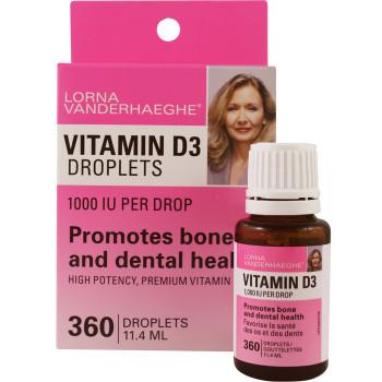 Lorna Vanderhaeghe, Vitamin D Drops, 1000 IU per drop (360 Drops)
