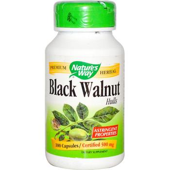 Nature's Way Black Walnut Hulls 100 Capsules
