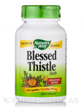Nature's Way Blessed Thistle Herb 100 Capsules