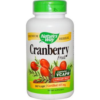 Nature's Way Cranberry Fruit 465 mg, 100 Capsules