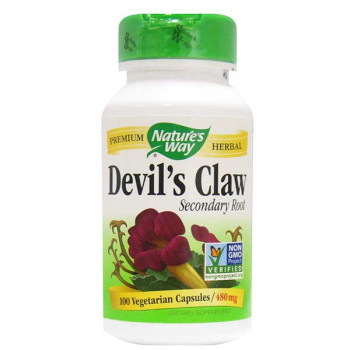 Nature's Way Devil's Claw Secondary Root 480 mg, 100 Capsules