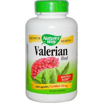 Nature's Way Valerian Root 530 mg, 100 Capsules