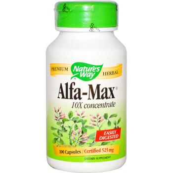 Nature's Way Alfa Max 525 mg, 100 Capsules