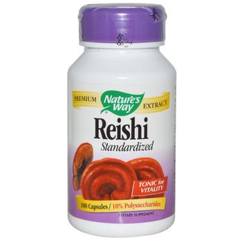 Nature's Way Reishi Mushroom 100 Capsules