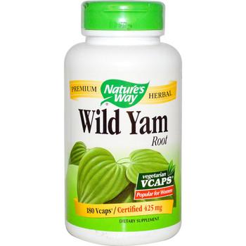 Nature's Way Wild Yam Root 425 mg, 100 Capsules