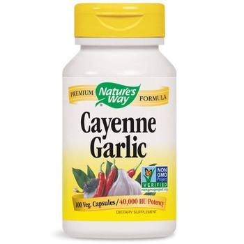 Nature's Way Cayenne Garlic 100 Capsules