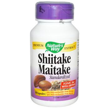 Nature's Way Shitake Maitake Mushroom 60 Capsules