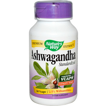 Nature's Way Ashwagandha 60 Capsules